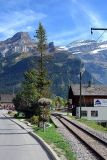The railway line, Les Diablerets