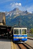 The train, Les Diablerets