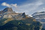 Trees and peaks, Les Diablerets