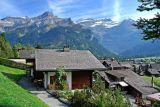 Village and backdrop, Les Diablerets
