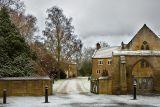 A frosty Treasurer's House, Martock