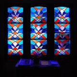Chapel window, Les Diablerets