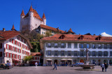 Square and castle, Thun