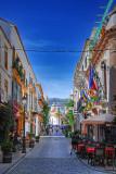 Sunny street in Marbella