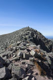 Katahdin cairn in sight!