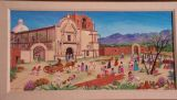 PAINTING OF THE MISSION AT TUMACACORI