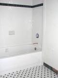 Finished bath tile