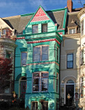 'Peppermint house' on P Street NW