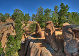Granite Formations at the Crags