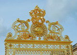 Versailles Palace Gate with Crown