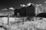Farm Silos Infrared
