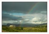 Rainbow in Dovre mountain range