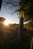 Gas Pump In Ghost Town Of Govan