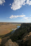 View Of Ancient River Bed From Dry Falls