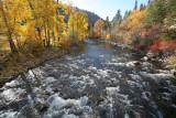Fall Day On Entiat River Near Ardenvoir