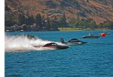 5 Liter  Hydro's Racing On Lake Chelan ( Chevy 305 Motors)