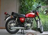 Mint Early 70's Honda 450