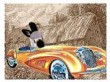 Bentley In His Bentley