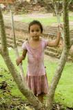 Village girl , Chiang Mai