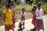 Women and children in rural Pohnpei