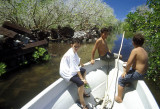 Exploring the waterways of Nan Madol