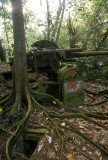 Japanese AA gun on Sokehs Ridge