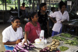 Fiji Indian women at Korovou market