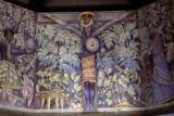 Black Christ  mural