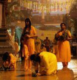 Theemidhi (Rituals before the Fire Walking)