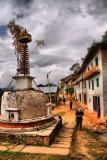 stupa at Dolakha