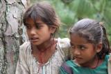 girls at Singati
