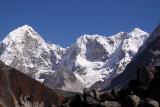 peaks on Tibetan border