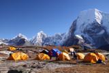Ramdung base camp 5050 m