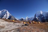 Ramdung base camp 5050m