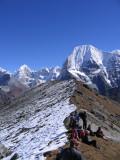 ridge above Ramdung bc