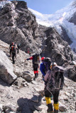 just below Drolambu Glacier