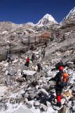 below Drolambu Glacier