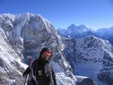 sherpa (Palden) at Parcharmo summit