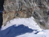 Japanese climbers and camp. Tesi Lapcha pass at left.
