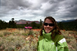 Having fun and FREEZING on the Pink Jeep Tours