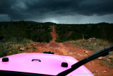 On the Pink Jeep Tours