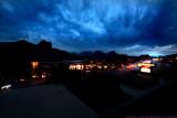 Sedona at night