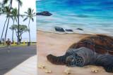 Kona Turtle Mural