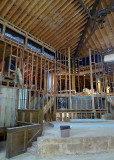 ALMOST ALL THE CHURCH'S INTERIOR SPACES HAD TO BE COMPLETELY GUTTED, INCLUDING THE SANCTUARY
