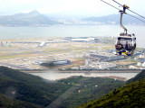HK Int'l Airport  from Ngong Ping 360 Cable car