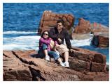 Unsuspected Portrait on the Rocks