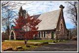 A Church in Late Fall