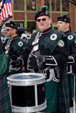 The DSNY Marching Band  at the St. Pats Parade