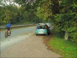 Exemple de dangerosité d'une piste routière (suite...)