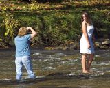 Wet Photographer- Falls Park, Pendleton, IN